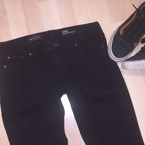 J. Crew Matchstick Skinny Short Jeans